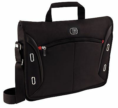 "NEW! Wenger 67684001 Developer 15"" Messenger Case Bag with iPad Tablet Pocket"