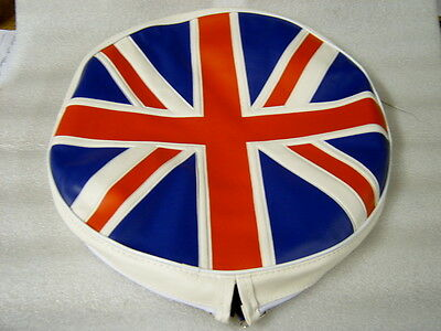 Lambretta Union Jack Spare Wheel Cover