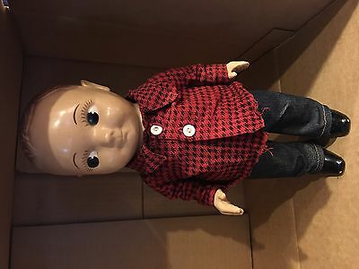 VTG 1930s Buddy Lee Composite Doll with clothes