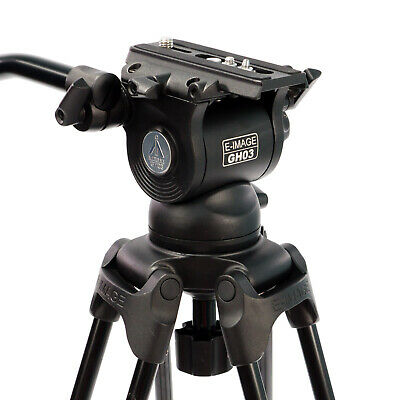 Professional Fluid Head 75mm Ball Base Pan Tilt for DSLR video camera camcorder