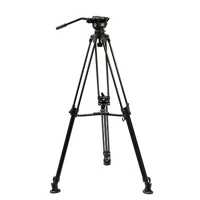 E-Image EG03A2 1.6m Professional Camera Tripod with Fluid Head for DSLR Video
