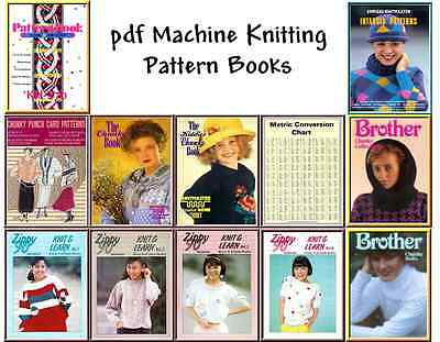 Chunky Punchcard & Electronic Pattern books on CD rom