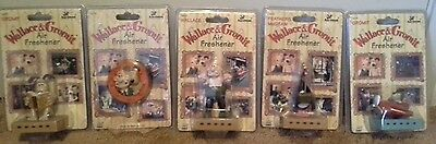 Wallace & Gromit 1989 Collectible Air Freshner Package Rare