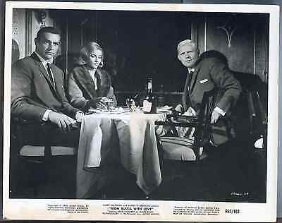 "Vtg ""From Russia With Love"" Harry Saltzman Albert R. Broccoli 65/163 Photo Print"