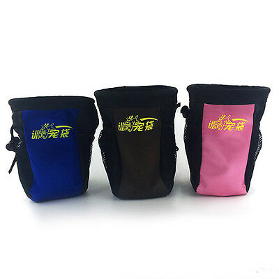 Hot Dog Training Waist Bag Outdoor Snack Pouch Drawstring Bag Pet Accessories
