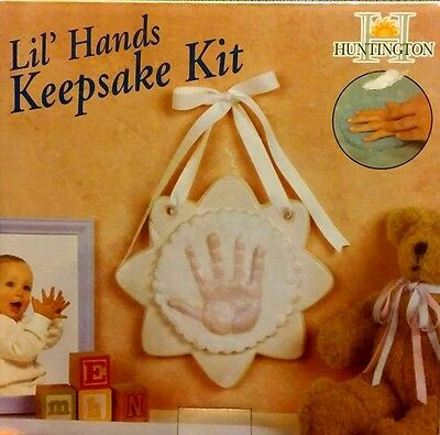 Huntington Lil' Hands Keepsake Milestone Kit - DIY Crafts Children Kids