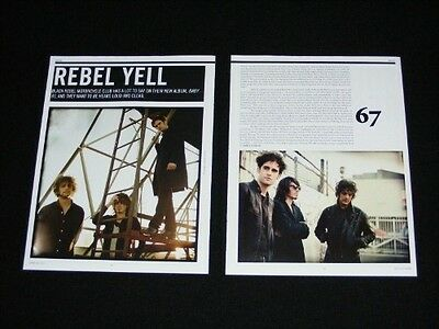 BLACK REBEL MOTORCYCLE CLUB magazine clippings 2007 magazine article