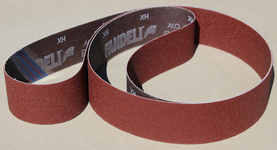 """2"""" x 72"""" Assorted 12pc. A/O Xwt. Sanding Belts-2 ea. P60,80,120,240,320,400 grit"""