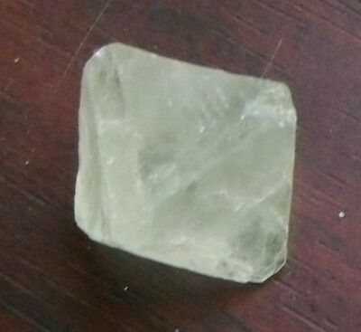Green FLUORITE OCTAHEDRON from CHINA