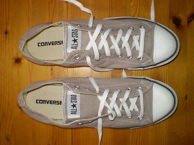 Converse All Star Taupe Training Shoes Mens Size Us 12 New