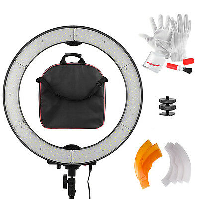Pergear 240PCS LED SMD Ring Light 5500K Dimmable Ring Video Light