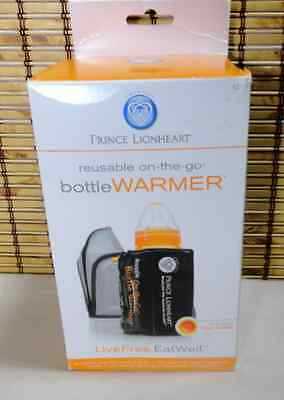 NEW Prince Lionheart On-the-Go bottle Warmer Travel Portable Reusable Baby
