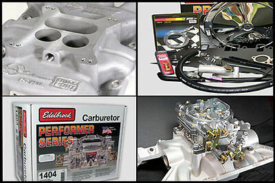 JWR Offenhauser Manifold Weber Carb Carburettor Kit V8 Engine