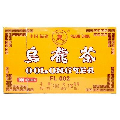1 x Fujian China Oolong Tea 100 Tea Bags