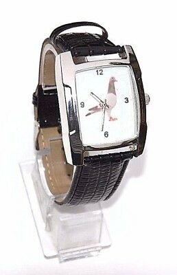 Superb Racing Homing Pigeon Watch Gift Quarts Movement With Black Strap