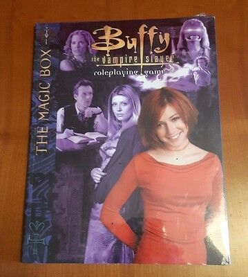 BUFFY VAMPIRE SLAYER RPG THE MAGIC BOX New and Sealed GdR Libro delle Magie ENG
