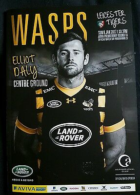 Wasps v Leicester Tigers 2016 - 2017