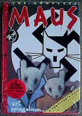 """the Complete Maus: A Survivor's Tale"" Unopened New Cd-Rom Novel  Free Shipping"
