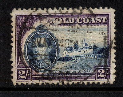 Gold Coast 1938/43 2/-  Blue & Violet KGVI - Perf 11½ x 12 - SG 130a - Used