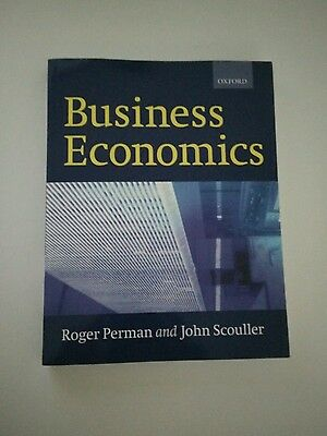 Business Economics by John Scouller, Roger Perman (Paperback, 1999)