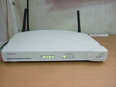 3Com OfficeConnect ADSL Wireless 108Mbps 11g Firewall Router