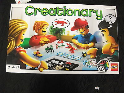 LEGO Creationary Game omplete