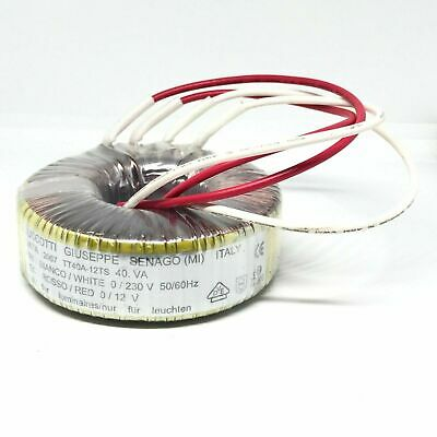 230V To 12V Toroidal Transformer Tt50A-12Sf 50Va