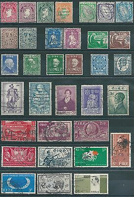 Eire small selection used stamps
