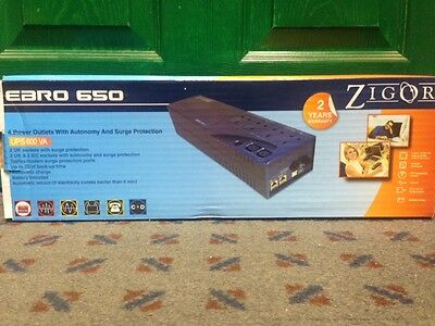 ZIGOR EBRO 650 UPS - Uninterrupted Power Supply