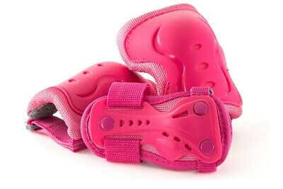 'SFR Essentials Protective 3 Pack - Knee''s Elbow and Wrist Guards - Hot Pink'