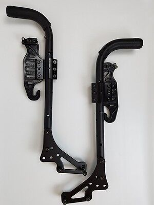 Quickie Pulse 6 Push Handle with Grips Assembly/ Side Rails to Back Rest