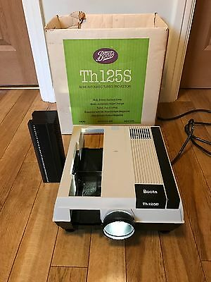 Boots Th125S Slide Projector for 35mm slides