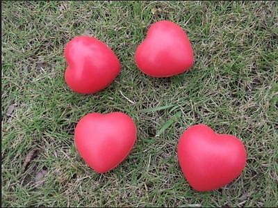 Heart Shaped Exercise Stress Relief Squeeze Elastic Rubber Soft Foam Ball Fun