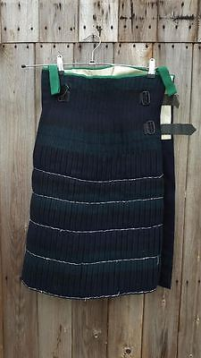 British Army Scottish Military Argyll / Rrs No 1A Kilt 28 Inch Waist - New