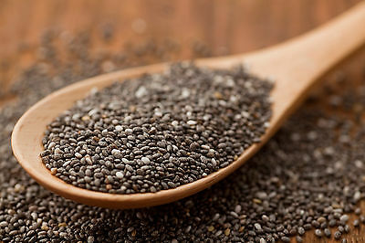 CHIA SEEDS 1KG 2KG  SUPERFOOD GLUTEN FREE GMO FREE 100% NATURAL Free Delivery