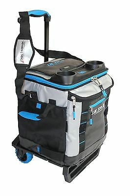 Arctic Zone Ultra Collapsible Rolling Trolley Wheel Cooler Cool Bag 58 Cans+Ice