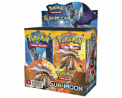 Pokemon Sun & Moon Booster Box 36 Count Brand New Sealed Posted 1St Class 2/2/17