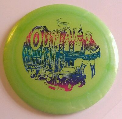 Legacy Discs First Run Pinnacle Outlaw - New, Green/Wildberry, 175g