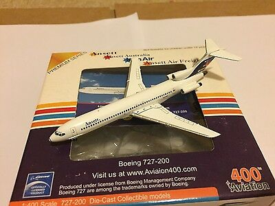 Ansett Australia Boeing 727-200 VH-ANA Aircraft Model 1:400 Aviation400 Gemini