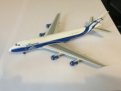 Air Bridge Cargo ABC Boeing 747-400F VP-BIG Aircraft Model 1:400 Scale Phoenix