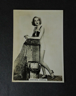 MODERN BEAUTIES 4th SERIES - #29 CONSTANCE GODRIDGE - 1937 - B.A.T. Cig Card