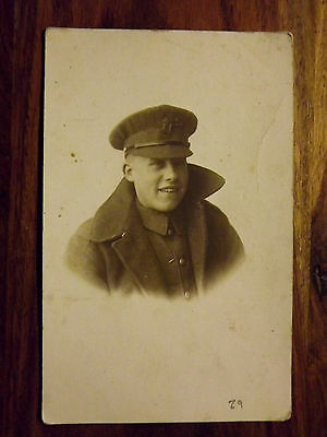 WWI portrait POSTCARD photograph Z9