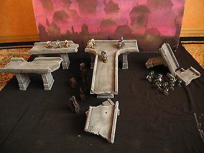 Warhammer 40 000 Scenery / Pieces Of Motorway, Highway. New Product. Check It