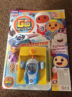 BBC CBeebies comic magazine Issue #1 Go Jetters + Vroomster Launcher