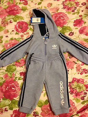 New ADIDAS Boys Suit 3-6 Months