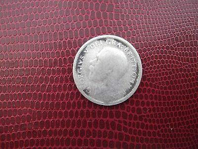 1927 Sixpence Silver King George V