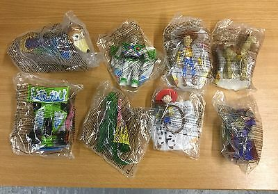 BNIP Rare McDonalds Happy Meal Toy -TOY STORY 2 (2000) - Full Set of 8 toys