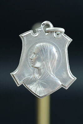55032b4a15c French Antique Religious Medal Silver Pendant.By Tricard Congration of the  Child