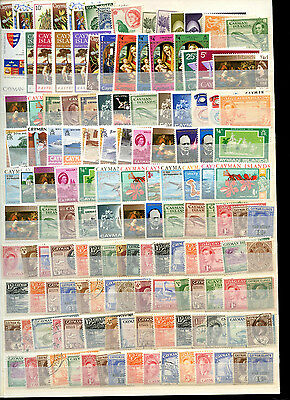 Cayman Islands Stockpage Full Of Stamps #B4233