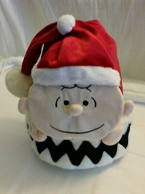 Peanuts Snoopy Christmas Charlie Brown Santa Hat 3D, NEW w/Tags SUPER CUTE